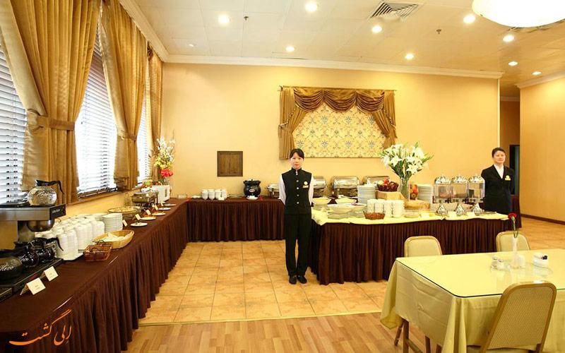 رستوران هتل مگنیفیسنت اینترنشنال شانگهای