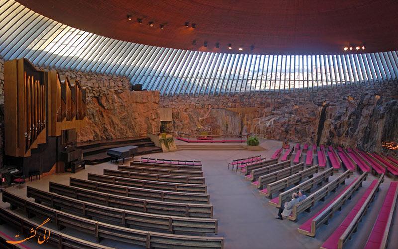 کلیسای سنگی فنلاند
