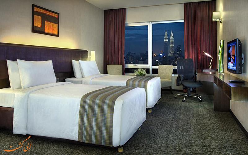 هتل فوراما بوکیت بینتانگ کوالالامپور | اتاق تویین