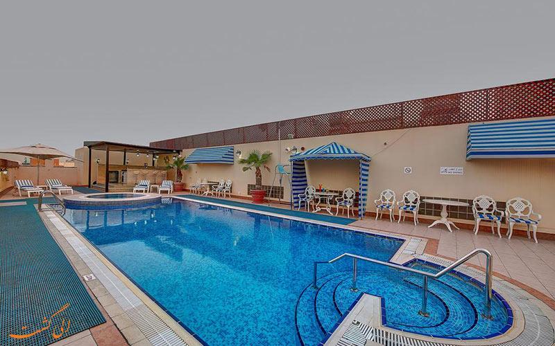 هتل نیهال پالاس دبی | استخر