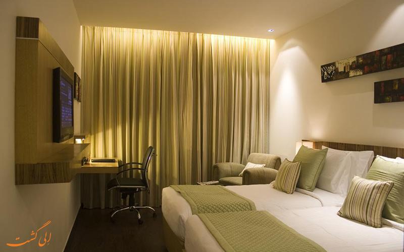 هتل شروانی نهرو پلیس دهلی | اتاق