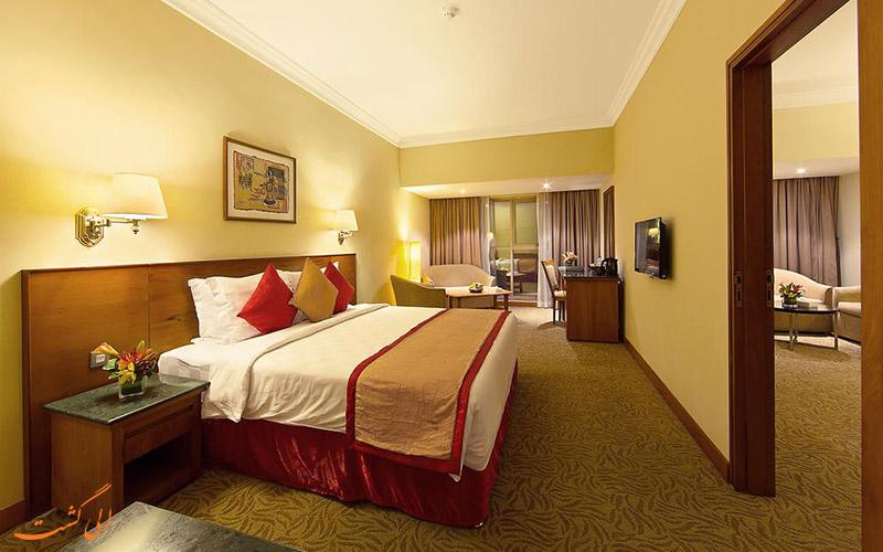 هتل سان اند اسکای دبی | نمونه اتاق