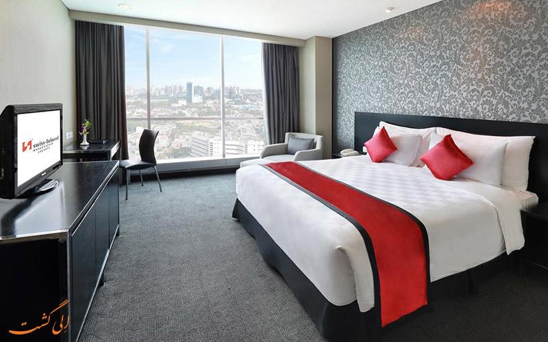 سوئیس بل هتل مانگا بسار جاکارتا | نمونه اتاق