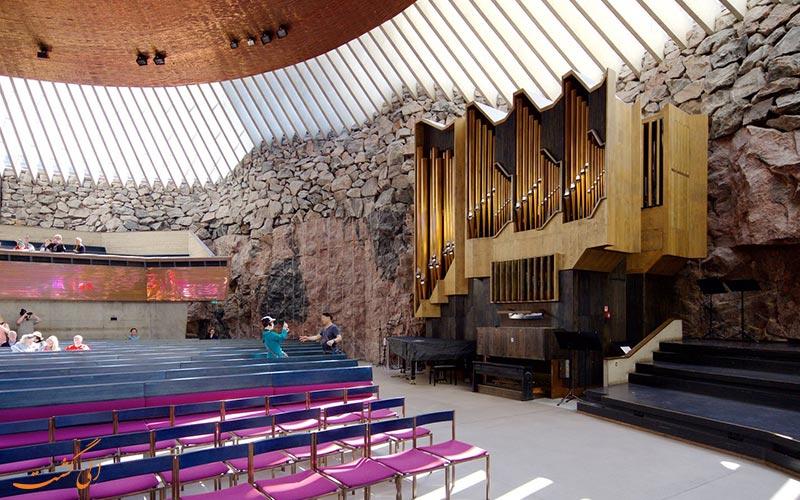 ارگ کلیسای سنگی فنلاند