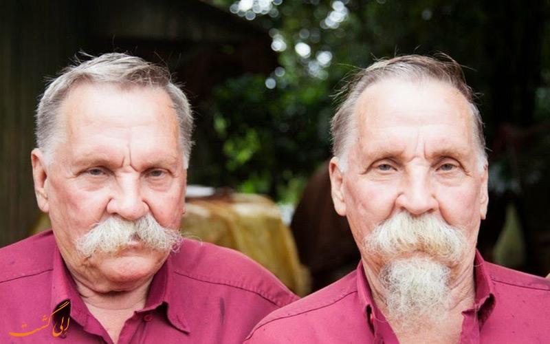 دو مرد دوقلو