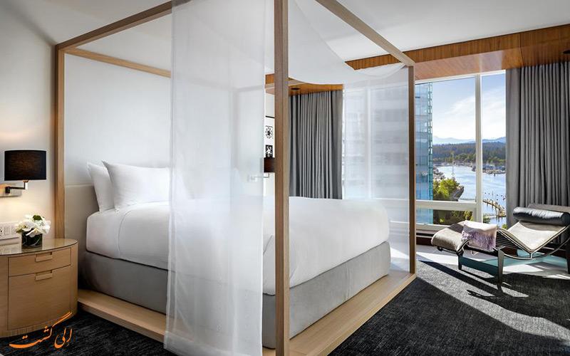 هتل فرمونت پسیفیک ریم ونکوور | اتاق