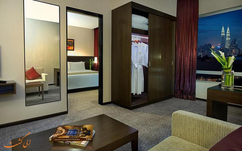 هتل فوراما بوکیت بینتانگ کوالالامپور | سوئیت