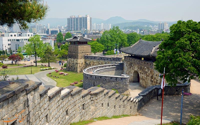 دیوار قلعه هواسونگ کره