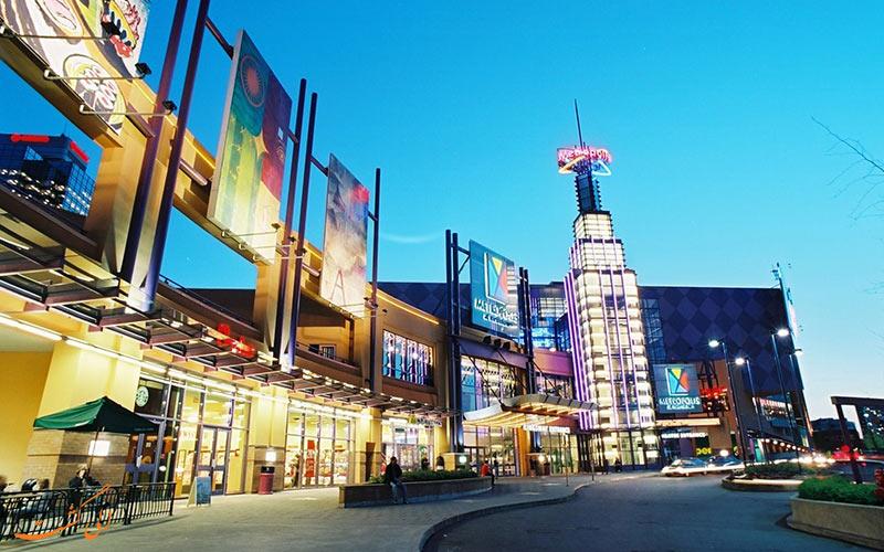 مرکز خرید متروپولیس ات متروتاون | Metropolis at Metrotown