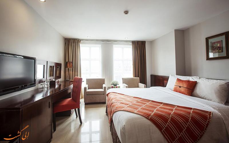 هتل سانووا هو شی مین | نمونه اتاق