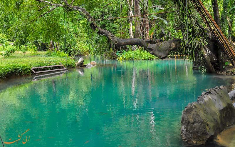 تالاب آبی ونگ وینگ لائوس