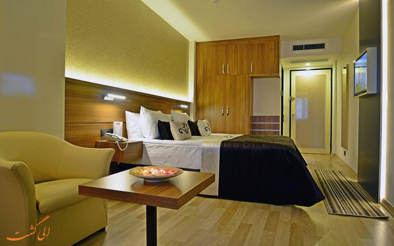 هتل آکسان ازمیر | نمونه اتاق