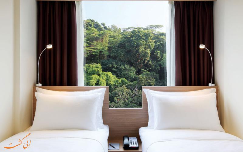 هتل بی سنگاپور | اتاق تویین