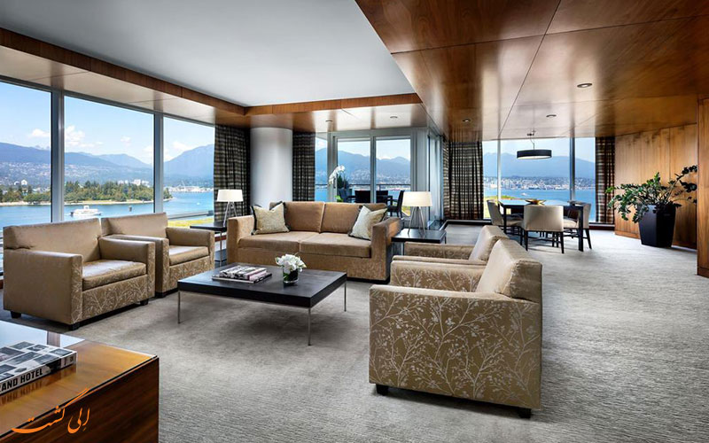 هتل فرمونت پسیفیک ریم ونکوور | سوئیت