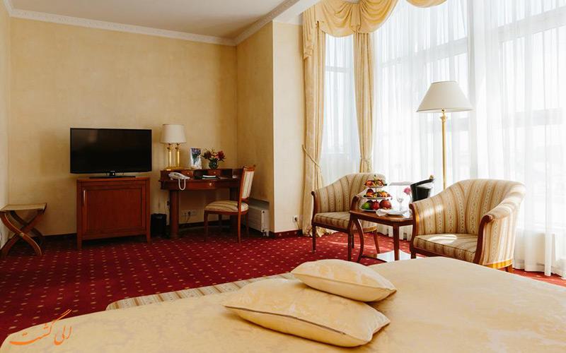 هتل نووتل مسکو سیتی | نمونه اتاق