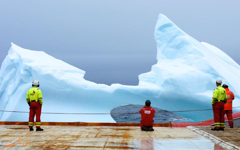 جابجا کننده حرفه ای کوه یخ