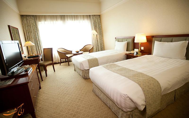 هتل اورگرین لورل پنانگ | اتاق تویین