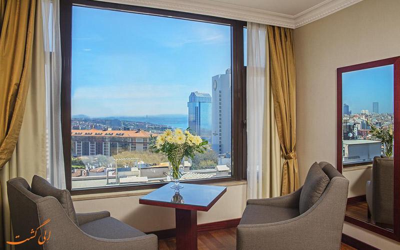 هتل گلدن پارک استانبول | نمای اتاق