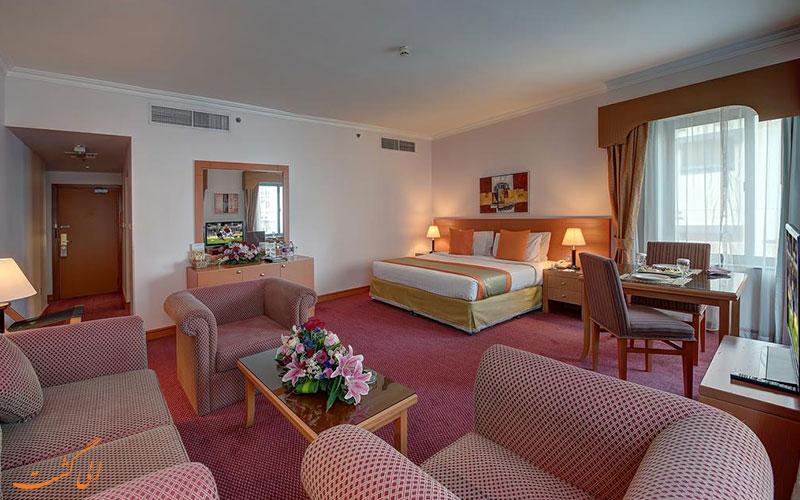 هتل نیهال پالاس دبی | نمونه اتاق