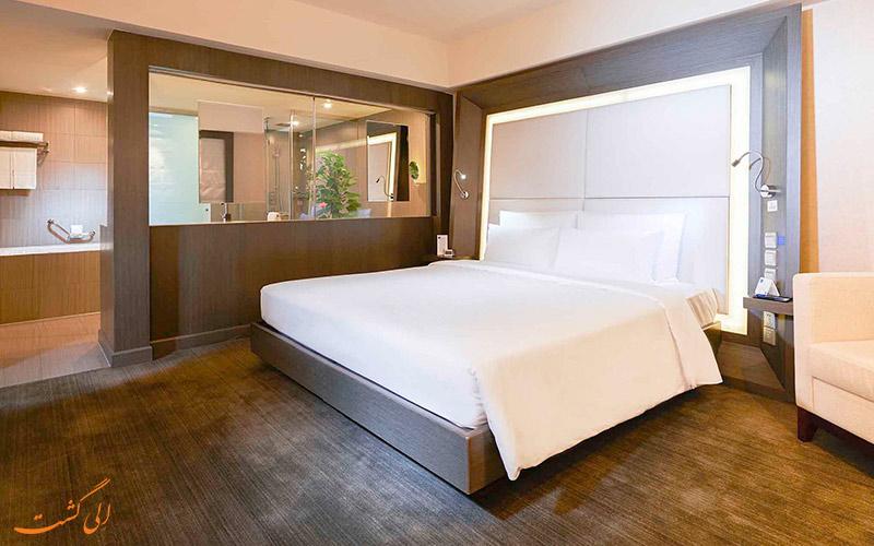 هتل نووتل سانیوئان پکن | تخت دبل