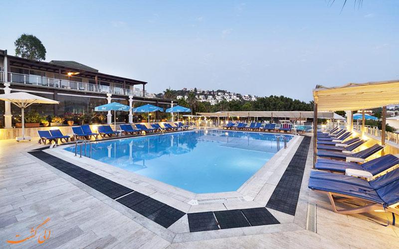 هتل گلدن ایج بدروم | استخر
