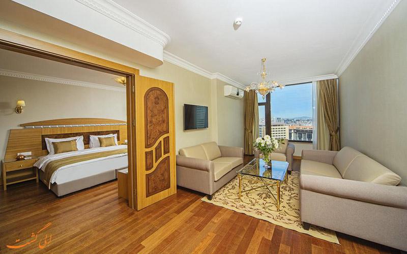 هتل گلدن پارک استانبول | نمونه سوئیت