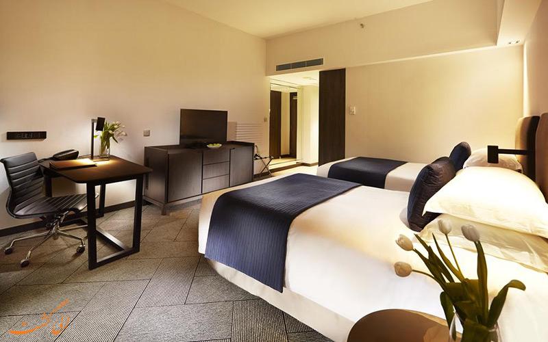 هتل ماندارین اورچارد سنگاپور | نمونه اتاق