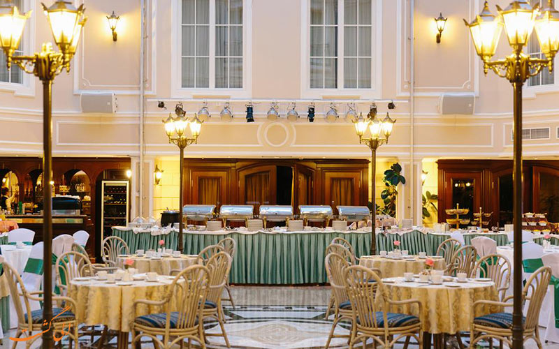 رستوران هتل نووتل مسکو سیتی