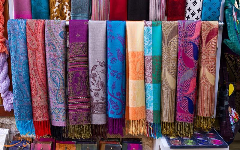 شال پشمینه | Pashmina shawls