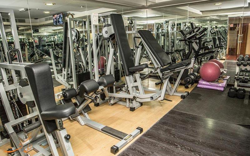 هتل سافرون بوتیک دبی   باشگاه بدنسازی