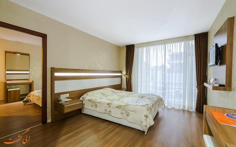 اتاقی در هتل سانتا مارینا آنتالیا