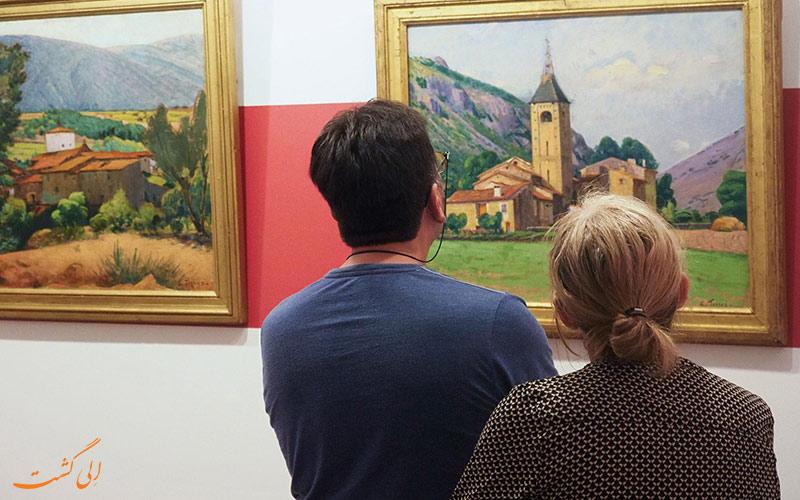 نقاشی های تقلبی موزه ای در فرانسه