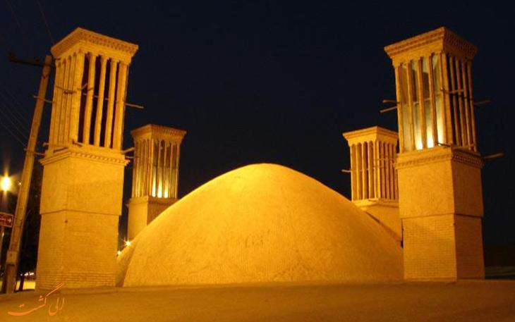 آب انبار گیو در استان یزد