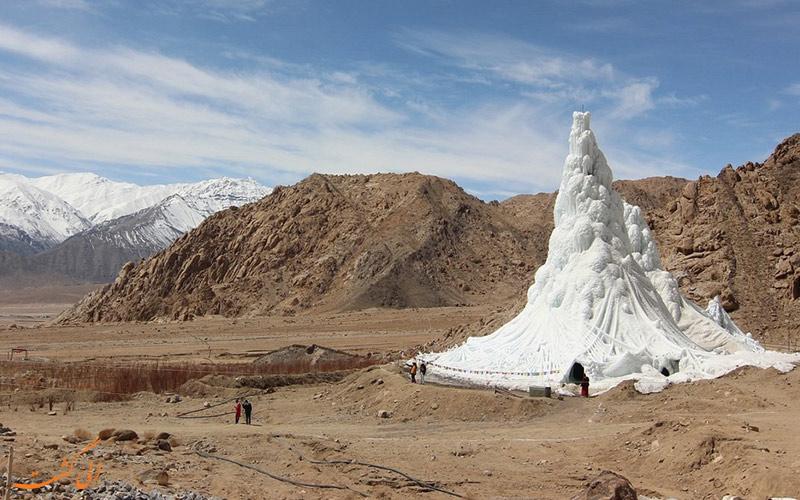 کوه یخی مصنوعی