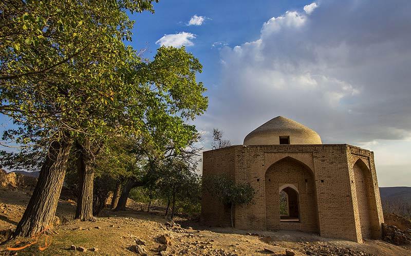 بناهای تاریخی روستای انجدان