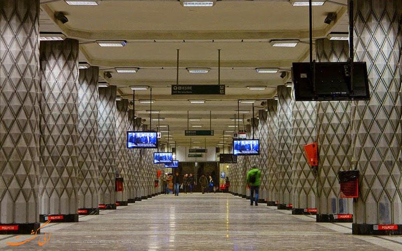ایستگاه های متروی بخارست