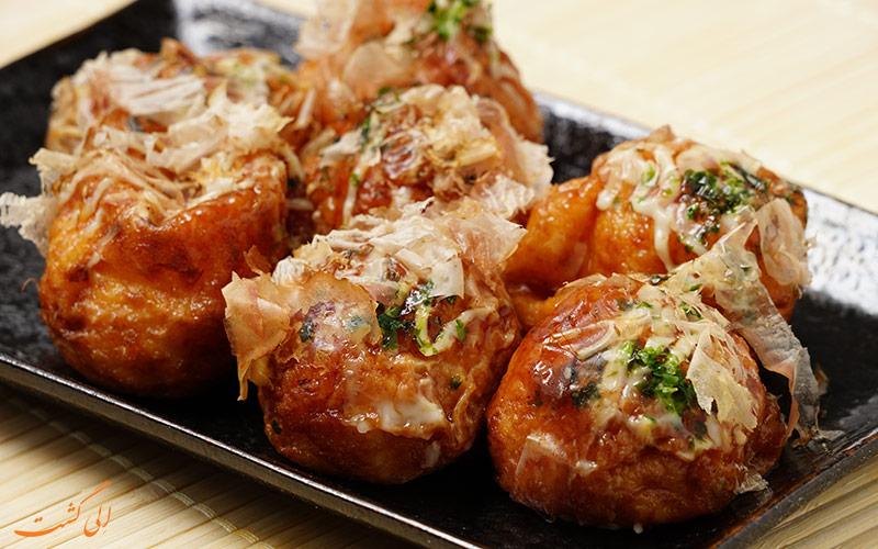 غذاهای خیابانی توکیو