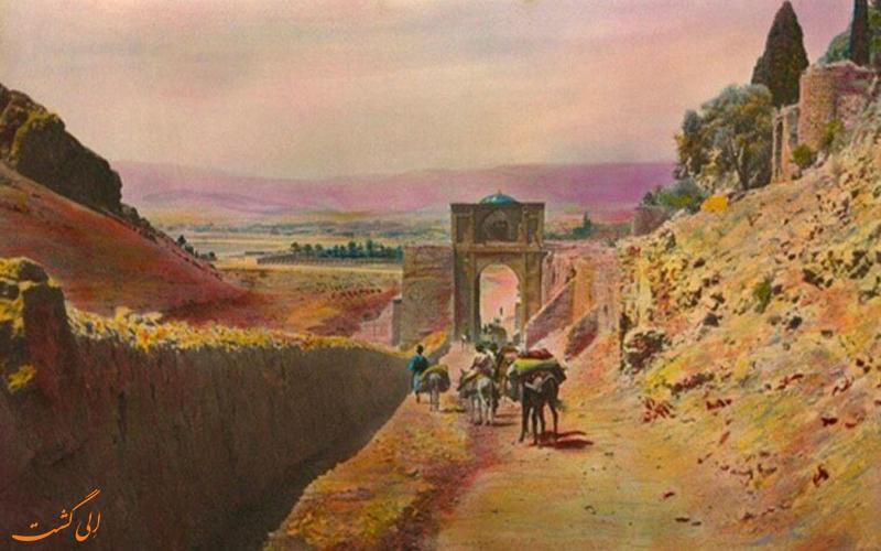قدیمی ترین عکس دروازه قرآن