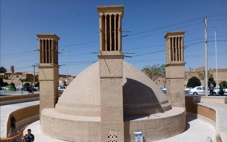 آب انبار گیو در یزد