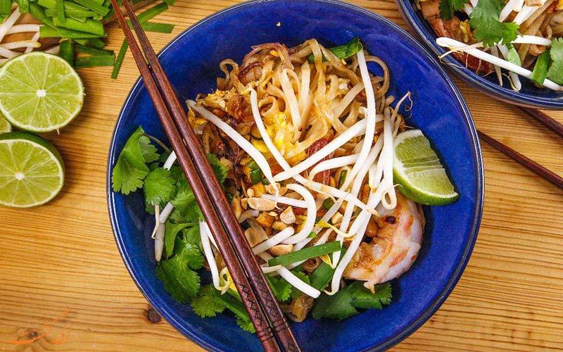 پدتای محبوب ترین غذای تایلند