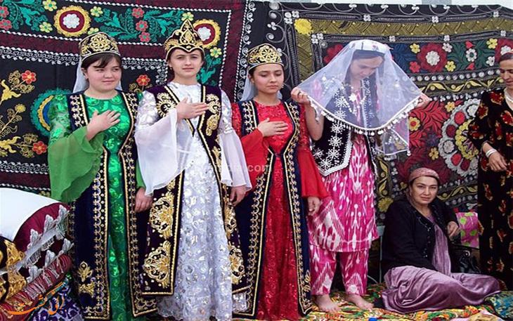 نوع پوشش زنان در تاجیکستان