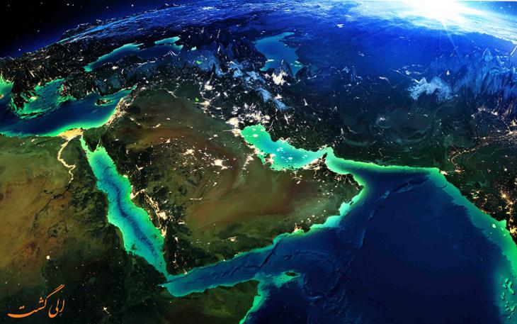 کشورهای حاشیه خلیج فارس
