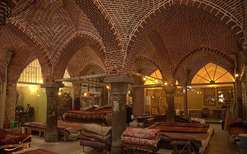 معماری بازار اردبیل