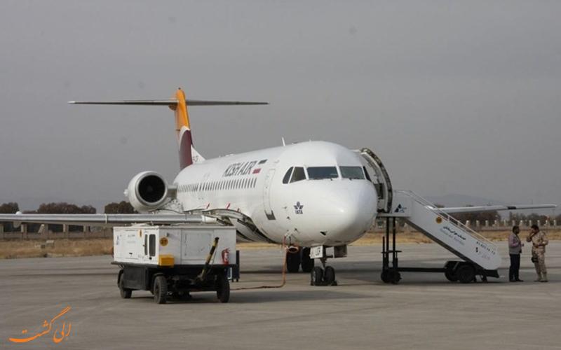 راه های دسترسی به فرودگاه بین المللی کرمانشاه