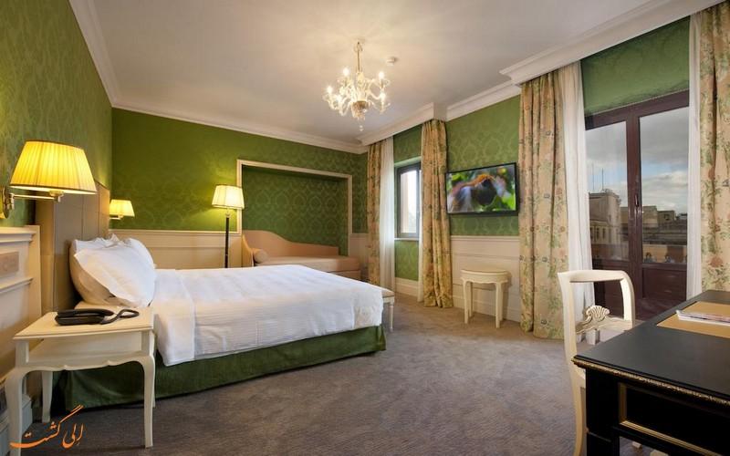 هتل امبسیتوری پالاس رم
