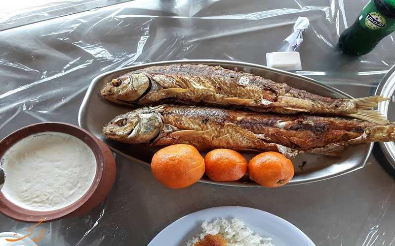 ماهی کبابی خاور خانم