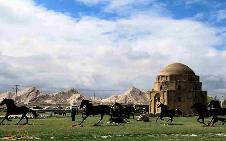 گنبد جبلیه در کرمان