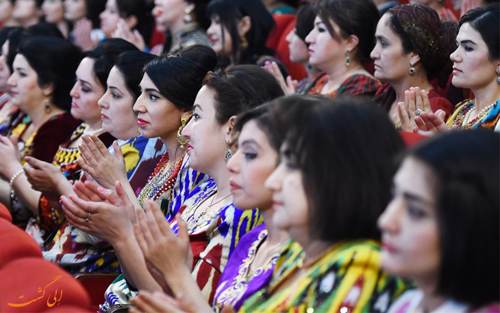 پوشش بانوان در تاجیکستان