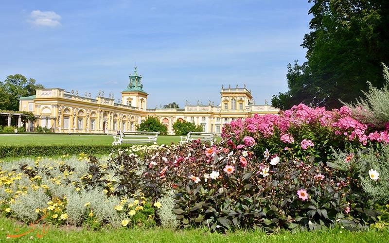 باغ کاخ ویلانو