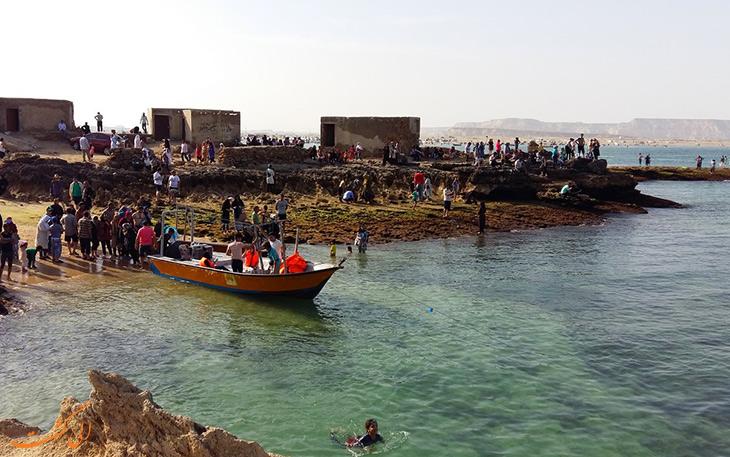 تفریح جزایر ناز